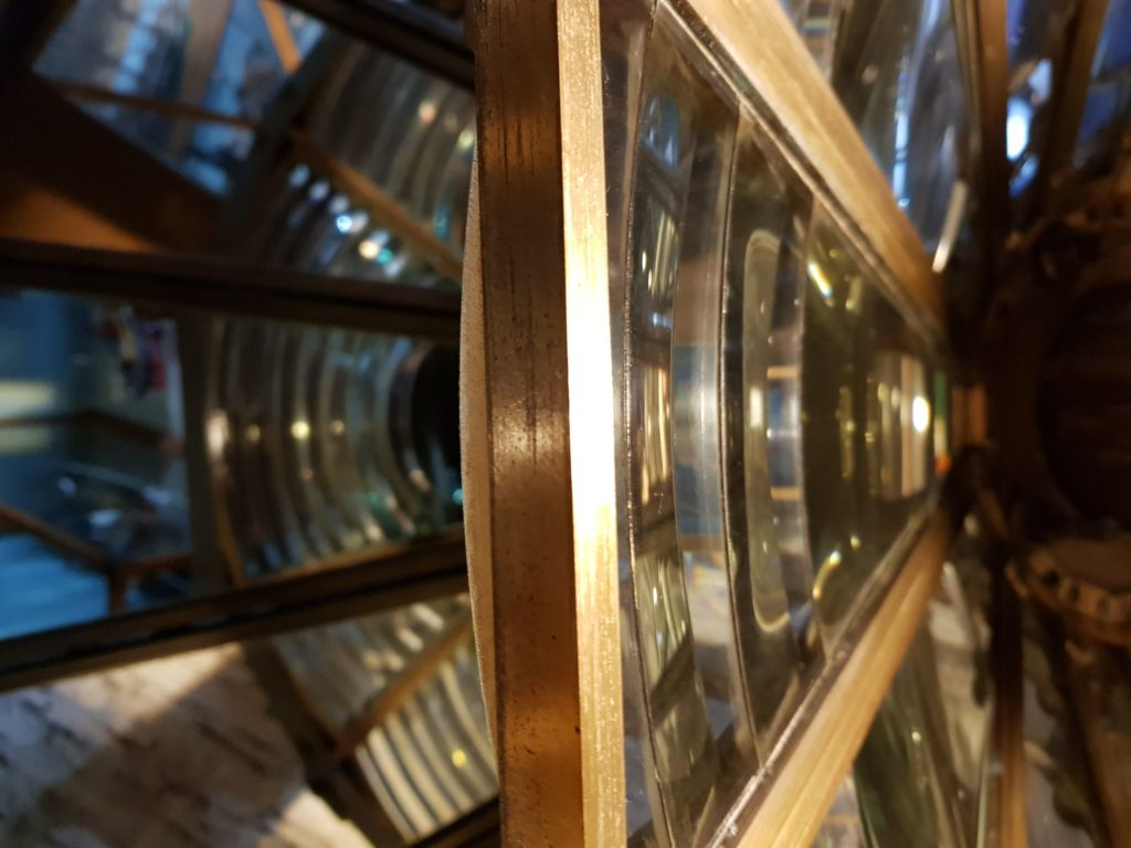 The Noss Head fresnel lens in Wick Heritage Centre