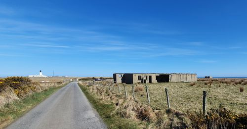 The WW2 buildings at Noss Head