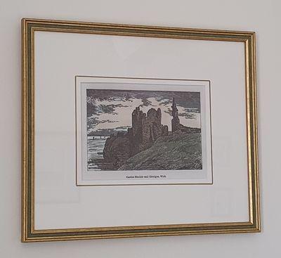 Print of Castle Girnigoe