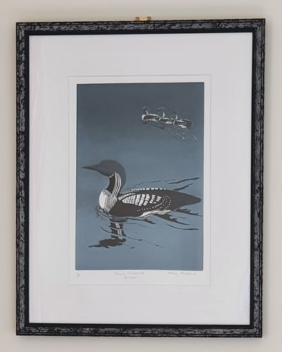 Mary Andrews – Black Throated Divers