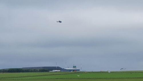 Landing at Wick Airport